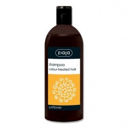 Ziaja shampoo sunflower for colour-treated hair 500 ml