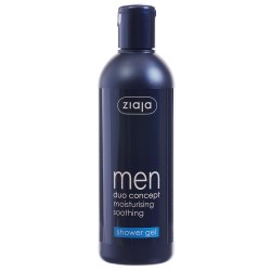 Ziaja men duo concept moisturising soothing shower gel 300 ml