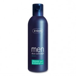 Ziaja men duo concept 2 in 1 shower gel & shampoo 300 ml