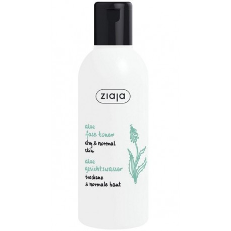 Ziaja aloe face toner dry & normal skin 200 ml