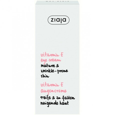Ziaja vitamin E eye cream mature & wrinkle-prone skin 15 ml