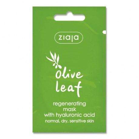 Ziaja olive leaf regenerating mask with hyaluronic 7 ml
