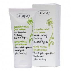 Ziaja cucumber mint face cream 50 ml