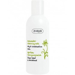 Ziaja cucumber cleansing milk 200 ml