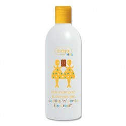 Ziaja kids shampoo & shower gel cookies and vanilla ice cream 400 ml