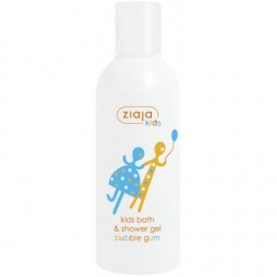 Ziaja kids bath & shower gel bubble gum 200 ml