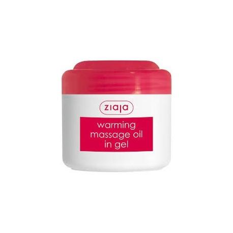 Ziaja warming massage oil in gel 180 ml