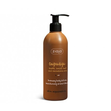 Cupuacu bronzing body lotion 300 ml