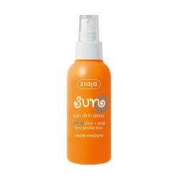 Ziaja Sun oil in spray SPF 6 125 ml