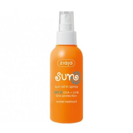 Sun oil in spray SPF 6 125 ml