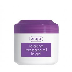 Massage oils relaxing massage oil in gel 180 ml