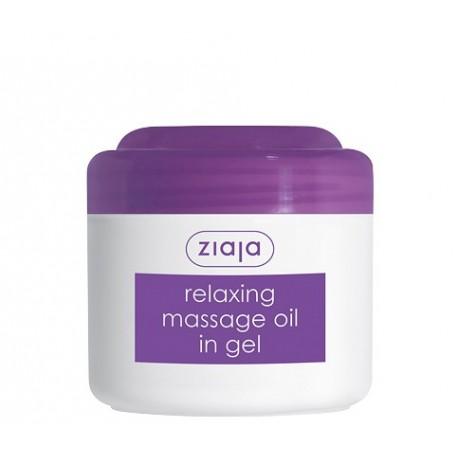 Massage oils relaxing massage oil in gel 180 ml