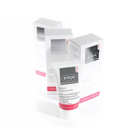 Ziaja med day cream for dilated capillaries 50 ml