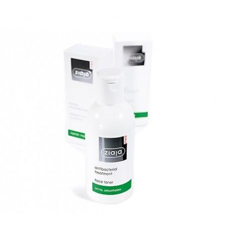 Ziaja med antibacterial treatment face toner 200 ml