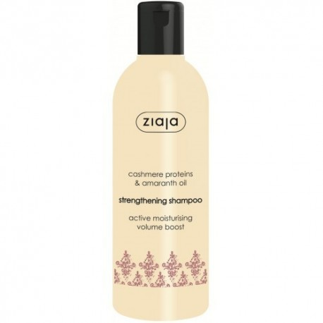 Ziaja cashmere amaranth oil strengthening shampoo 300 ml
