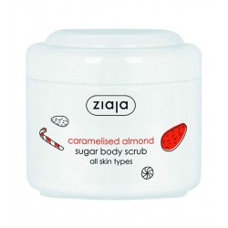 Ziaja winter caramelised almond sugar scrub 200ML