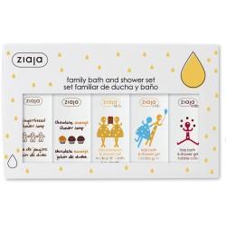 Ziaja family christmas gift set 5 x 200 ml