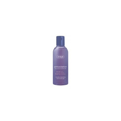 Ziaja accai berry micellar cleansing face scrub gel early wrinkle correction 200 ml