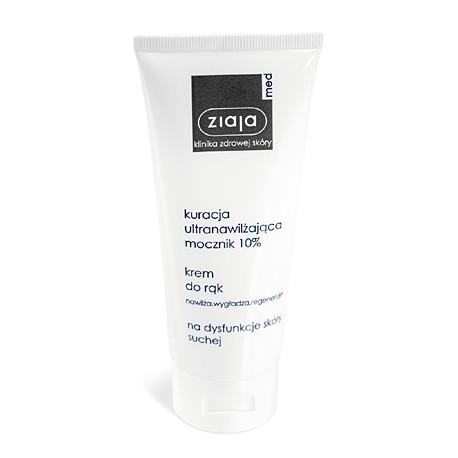 Ziaja med hand cream with urea 10% 100ml