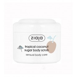 Ziaja Tropical Coconut Sugar Body Scrub 100ML