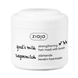 Ziaja goat's milk strengthening hair mask with keratin 200 ml