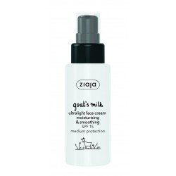 Ziaja Goat's Milk Ultralight Face Cream Spf 15 50Ml
