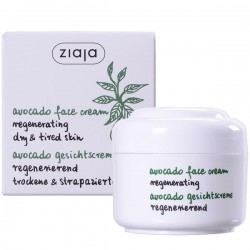 Ziaja avocado natural oils avocado oil regenerating face cream 75 ml
