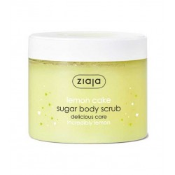 Ziaja Lemon Cake Sugar Body Scrub 300ml