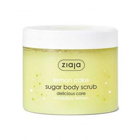 Ziaja Lemon Cake Sugar Body Scrub 300ml