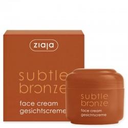 Ziaja subtle bronze face cream 50 ml