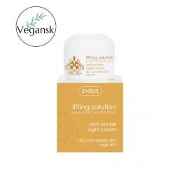 Ziaja lifting solution anti-wrinkle night cream 40+, 50 ml