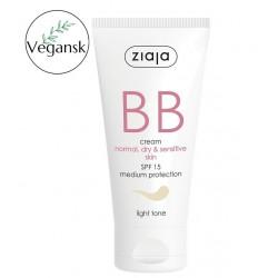 Ziaja BB aktywny krem na niedoskonałości skóry normalnej, suchej i wrażliwej odcień jasny 50 ml