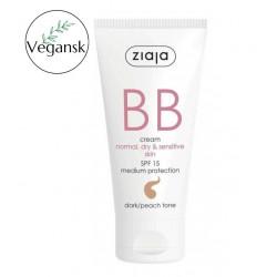 Ziaja BB cream normal, dry, sensitive skin - dark/peach tone 50 ml