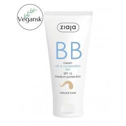 Ziaja BB cream oily, combination skin - natural tone 50 ml