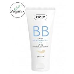 Ziaja BB cram oily,combination skin - light tone 50 ml