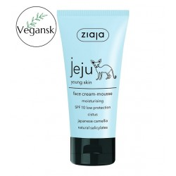 Ziaja jeju moisturising face cream-mousse 50ml